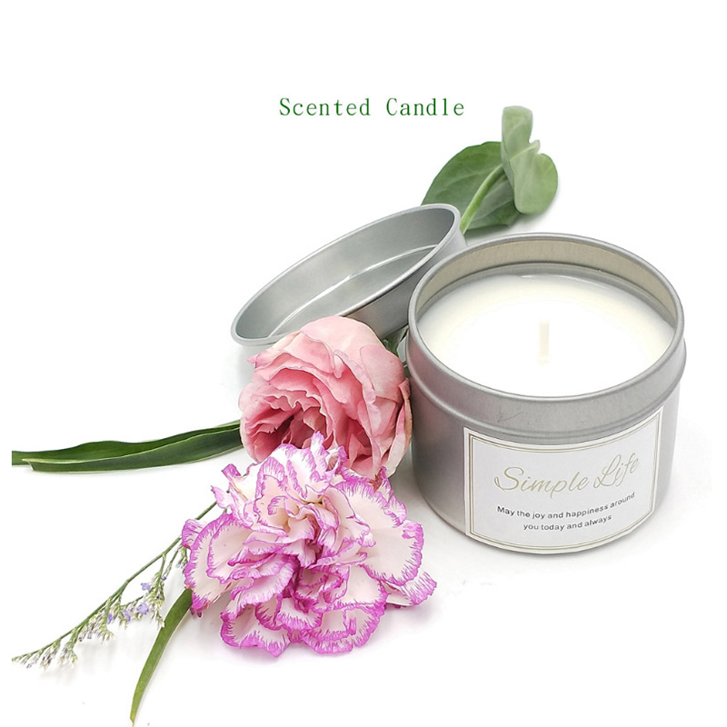 1 PC Scented Candles Sexy Man Luxury Soy Jar Candle  Long Lasting Aromatherapy Home Party Decoration