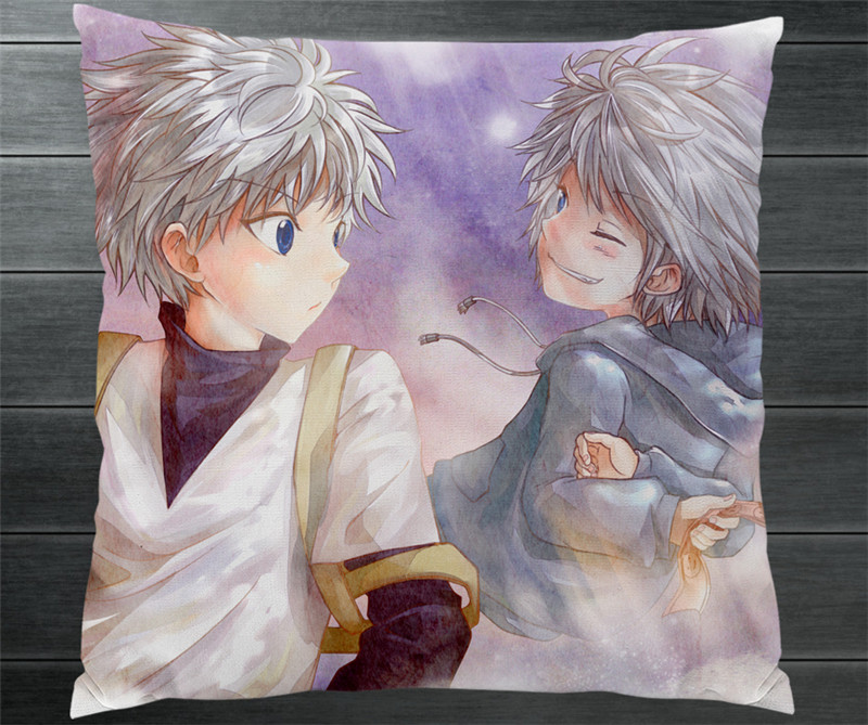 Abile Hunter X Hunter Killua Zoldyck Alluka Zoldyck Due Lati Federa Manga Anime Cosplay Regalo Del Cuscino Case Cover Nuovo P12