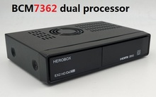 HEROBOX EX2 HD DVB-S2 HD Linux Enigma2 751MHz MIPS Satellite tv Receiver better than Zgemma Star H.S Satellite Receiver