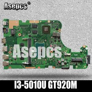 Asepcs X555LD Laptop motherboard For Asus X555LD X555LDB X555LA X555LB X555L X555 Test original mianboard 4G-RAM I3-5010U GT920M(China)