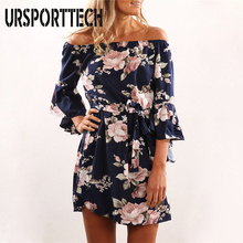 2019 New Sexy Women Dress Summer Off Shoulder Floral Print Chiffon Dress Boho Style Short Party Beach Dresses Vestidos De Fiesta 2019 new sexy women dress summer off shoulder floral print chiffon dress boho style short party beach dresses vestidos de fiesta