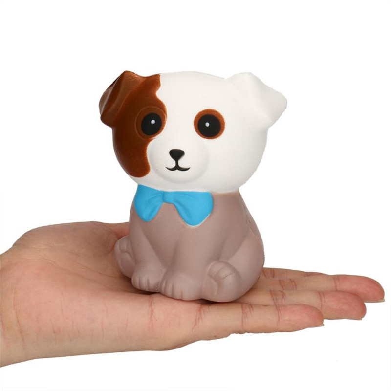 Spotted Dog Cream Bread Scented Slow Rising Squeeze Toys Squishy Anti Stress Fun Funny Gadget Interesting Toys Gift Decoration40