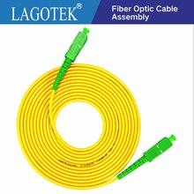 10 ชิ้น/ถุง SC APC 3M Simplex ไฟเบอร์ออปติก Patch สายเคเบิล SC APC 2.0 มม.หรือ 3.0 มม.FTTH Fiber Optic สายจัมเปอร์