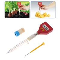 PH 98108 pH Meter Sharp glass Electrode for Water Food Cheese Milk Soil pH Test