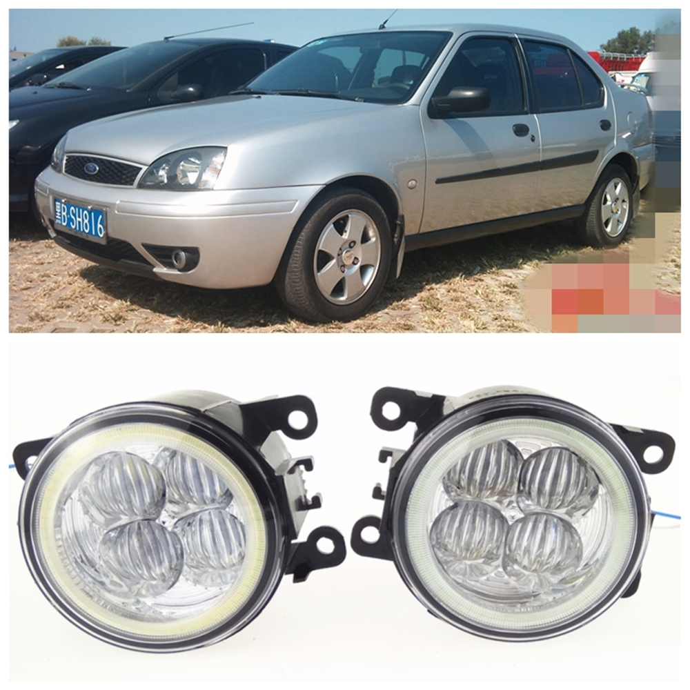 For ford fiesta v hatchback jh_ jd_ 2001 2008 10w high brightness led angel eyes