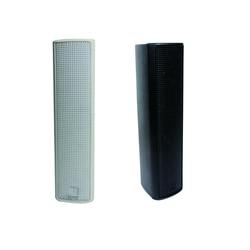 100W plastic body black/white PoE DSP controlling Dante column speaker with RJ45 interface