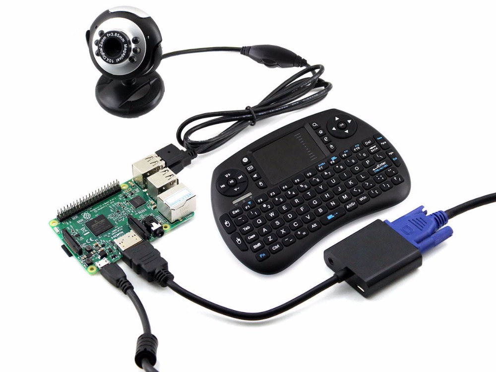 Raspberry Pi 3 Pack C With Raspberry Pi 3 Model B Development Kits Plus Mini Wireless