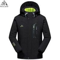 Men S Thick Warm Autumn Winter Jacket Men Waterproof Windbreaker Man Coat Fashion Soft Shell Jackets