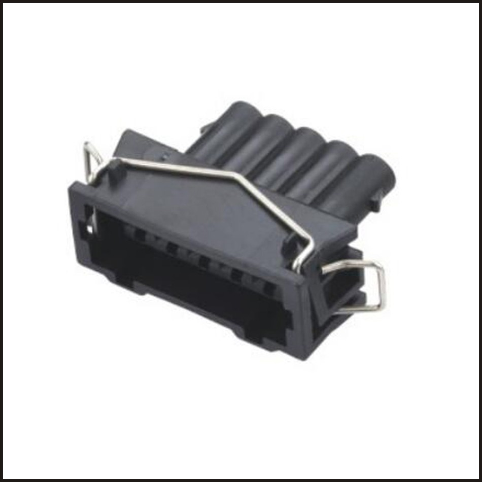 male Connector Terminal plug AMPconnectors jacket auto Plug socket female  Connector 5 pin connector Fuse box PA66 DJ7054A 3.5 21-in Connectors from  Lights ...