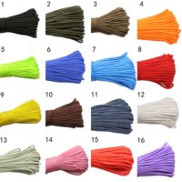 100m Paracorde 9 Core 550 for outdoor survival touw 4mm Paracord Camping Climbing Rope Hiking Clothesline