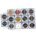 PCD Sobrancelha Profissional Micro Pigmento Maquiagem Permanente Ink Tattoo Set Lábios Microblading Colorfastness 1 Peça 14 Cores Opcionais