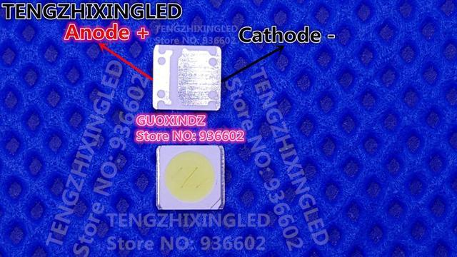 UNI LED Backlight 2W 6V 3535 165LM Cool white MSL 639DHZW KL LCD Backlight for TV TV Application