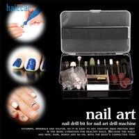 Nova Marca HAICAR 1 Caixa Pro Nail Art Elétricos Brocas Arquivo Manicure Pedicure Set Kit Ferramenta de Substituição de Alta Qualidade Pretty