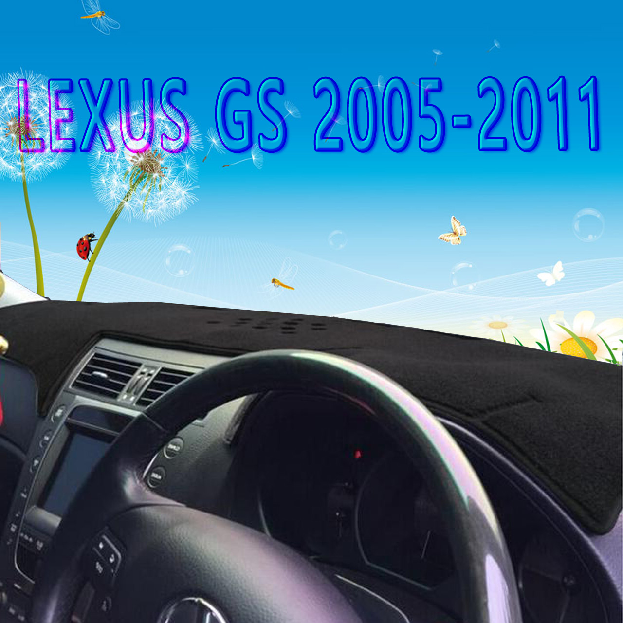 Dashmats Car Styling Accessories Dashboard Cover For Lexus Gs300 Gs430  Gs450h Gs350 Gs250 Gs460 2005