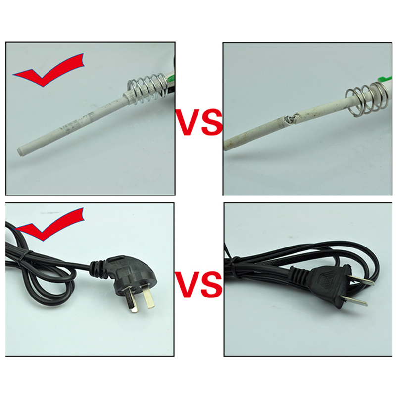 50W 220V Electric Soldering Irons Thermostat Anti static Internal ...