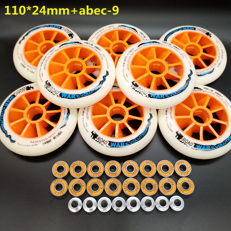 Free Shipping Speed Skates Wheel 100mm 110mm/110mm Speed Skates Wheel