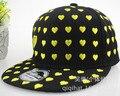 2015 Горячей Продажи Взрослых Случайный Геометрический бесплатная Новая Летняя вс Hat Вышивка Покер Хип-Хоп Плоским Вдоль Бейсболки Корея Harajuku