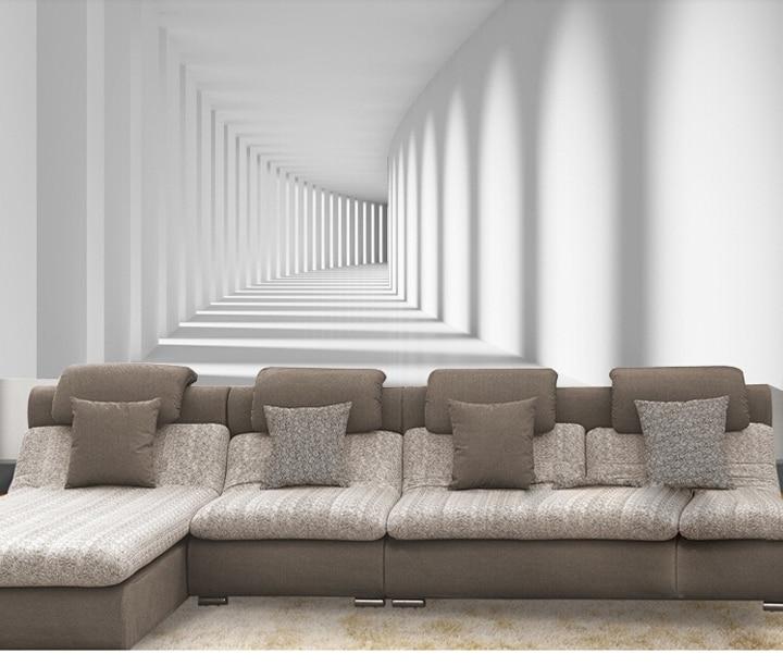 Abstracta moderna caliente 3d caminaron la promenade - Murales de pared 3d ...