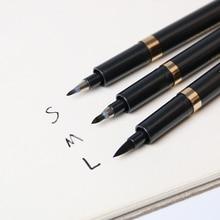 3pcs Chinese Japanese Calligraphy Brush Pen Set Size S M L