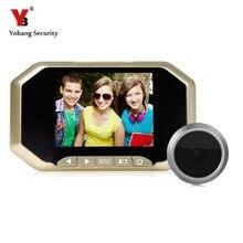 Yobang Security 3.5″ LCD Screen Peephole Door Viewer Camera DVR Camera Video door Eye Home Door Bell Eye With IR Night Vision