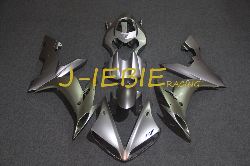 Silver Injection Fairing Body Work Frame Kit for Yamaha YZF 1000 R1 2004 2005 2006