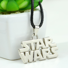 Star Wars Silver Plated Metal Alloy Charm Pendant Necklace