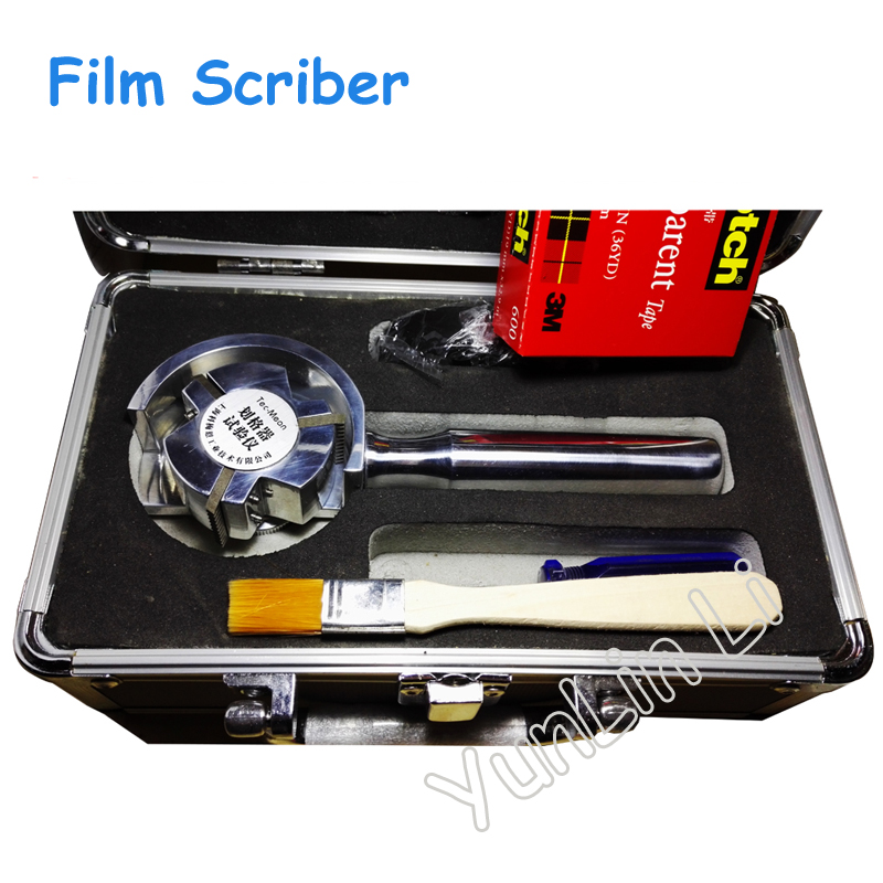 Film Scriber One Hundred Grid Knife with 6 Tooth Blades or 11 Tooth Blades QFH-A portable eyebrow knife with two blades