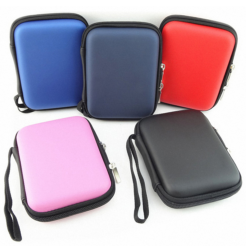 Hand Carry Case Cover Pouch for 2.5 inch Power Bank USB external WD HDD Hard Disk Drive Protect Protector Bag Enclosure Case