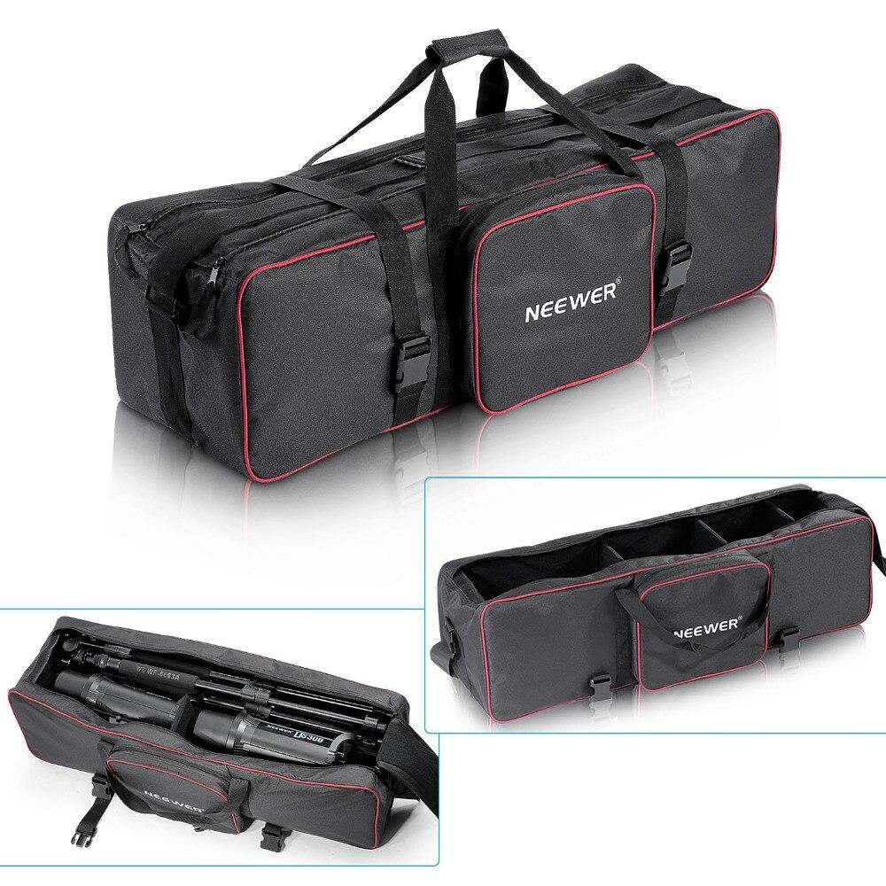 купить Neewer 30inchx10inchx10inch/77cmx25cmx25cm Photo Video Studio Kit Large Carrying Bag for Tripod Stand/Monopod/ Umbrella по цене 1842.13 рублей