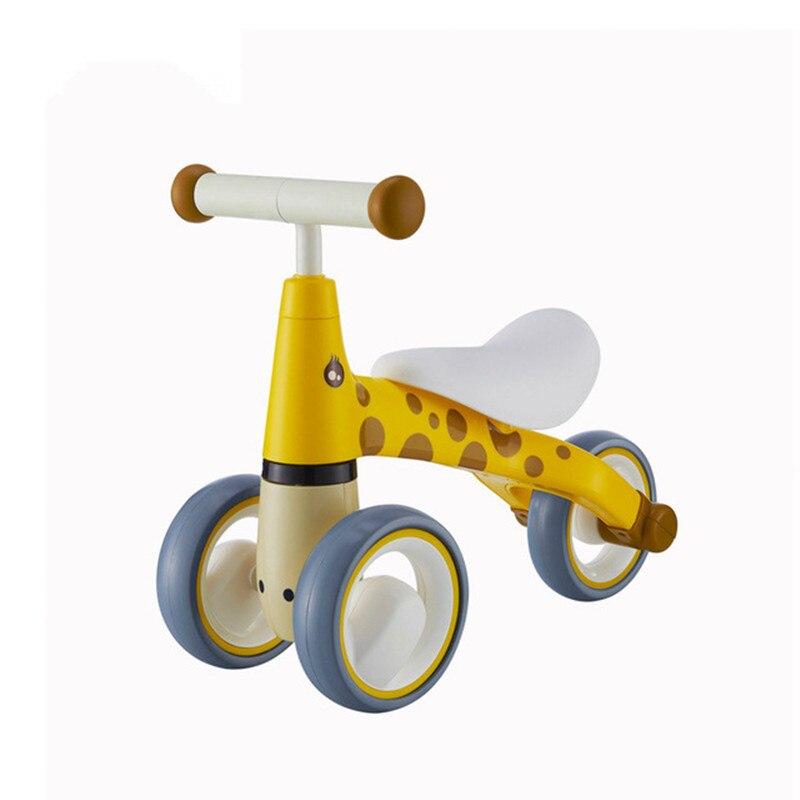 Mode bébé marcheur enfants Balance vélos Scooter infantile pour 1-3 ans Scooter pas de pédale conduite vélo cadeau trois roues