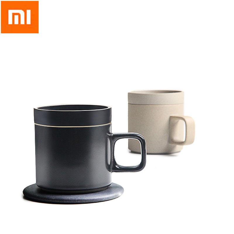 55-Degree Intelligent Wireless Charging Electric Heating Coffee Cup Janpan Original Ceramics Insulation Coffee cup Top Gift cup