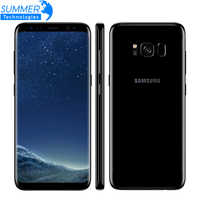 Teléfono móvil Samsung Galaxy S8 4G LTE desbloqueado Octa core 4GB RAM 64GB ROM 5,8 pulgadas 12MP huella digital
