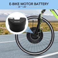 Ebike 36 v bateria de lítio para a bateria elétrica da bicicleta de imortor 36 v 3200 mah preto usb changer power bank|Bateria de bicicleta elétrica| |  -
