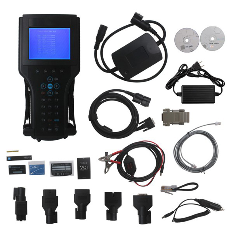 Professional Tech2 Diagnostic Scanner For GM/SAAB/OPEL/SUZUKI/ISUZU/Holden tech2 scanner with TIS2000 Software Full Package