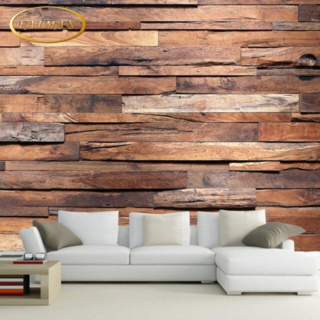 Wallpaper For Lounge Wall Part - 17: Custom 3D Photo Wallpaper Dark Stone Brick Wall Wallpaper Retro Nostalgia  Wallpaper For Living Room Lounge