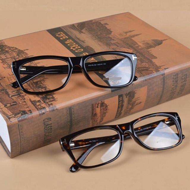 O envio gratuito de TOM TF5176 óculos óptica óculos de armação marca Genuínos homens de moda/mulheres tf Placa Retro óculos de armação