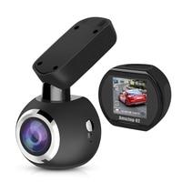 Ecartion Wifi Mini Car Camera GPS Logger FHD 1296P Dash Cam Car DVR Video Recorder Auto Registrator Night Vision Remote Control