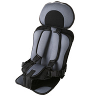 1 Pcs Portable Baby Safety Car Seat Updated Version Thickening Children Cotton Car Infant Safe Seat Suit For 0 9 Years Children