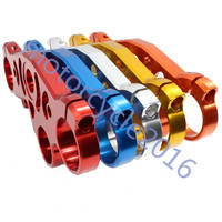 FXCNC CNC Aluminum Motorcycle Lowering Triple Tree Front End Upper Top Clamp 5 Colors For Yamaha