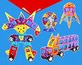 Mini 164 pçs/lote Modelos de Construção Magnético Blocos de Construção de Brinquedos DIY 3D Designer de Tijolos Crianças Brinquedos Educativos de Aprendizagem Magnética
