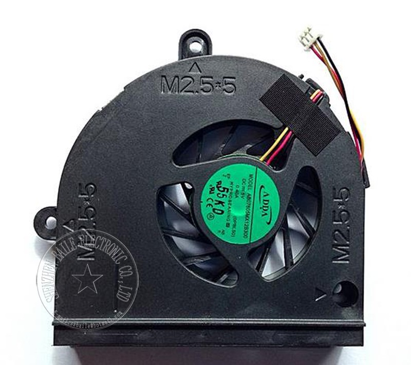купить Cooling fan for ASUS K53 K53B K53BY A53U K43T K43B X53U cpu fan, Brand new genuine K53 K53B A53U laptop cpu cooling fan cooler по цене 323.74 рублей