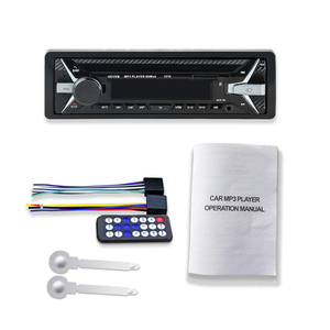 Image 5 - HEVXM 1010 car MP3 playe 1Din 12V Car multi function MP3 player, FM radio  USB Flash Disk player  AUX player