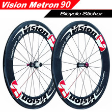 700C 90mm Rim Wheel Sticker Road Bicycle Stickers Rim Decals Cycle Reflective Road Wheels Decal for Metron 90(China)