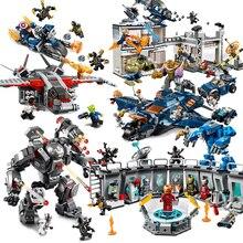 Avengers 4 Endgame Ultimate Quinjet Set Compatible Legoings Building Blocks Brick Kids Toy