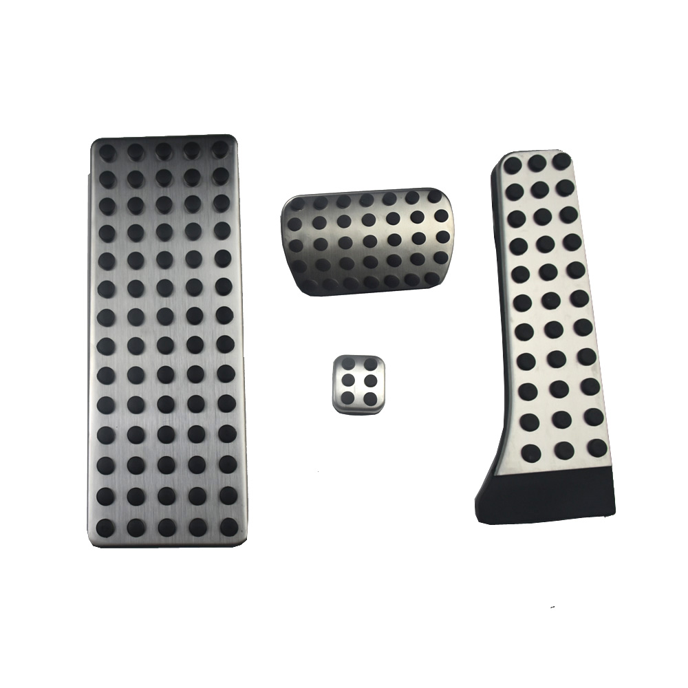 Rubber and Stainless Steel Fuel Car Brake Pedal For Mercedes Benz AT C E S GLK SLK CLS SL Class W203 W204 W211 W212 W210