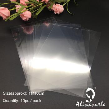 Alinacutle pcv z tworzywa sztucznego arkusz dla DIY Scrapbooking ręcznie shaker karty fotoalbum ramki tanie i dobre opinie 19061701 11x16cm 15x15cm 21x29cm