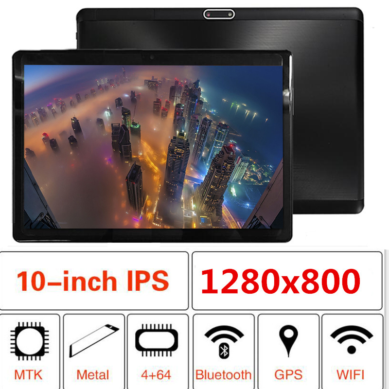 Newest Laptop Tablet PC 3G Android 8.1 Octa Core Super Tablets 4GB 6GB RAM 32GB 64GB 128GB ROM WiFi GPS 10.1 Tablet IPS Screen