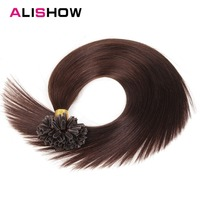 Alishow Hair 1g S Remy Pre Bonded Human Hair Extension Straight 16 18 20 22 U