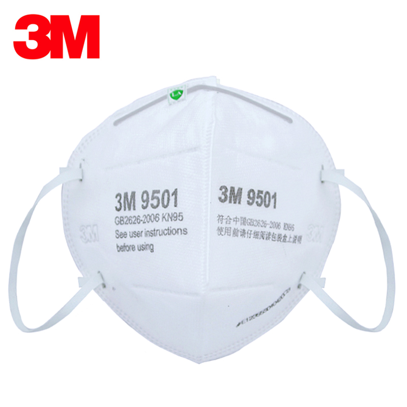 10pcs/Lot 3M 9501 Masks Anti-dust Masks KN90 Standard Masks Riding Protective Masks Anti Particles&Peculiar Smell  H012908