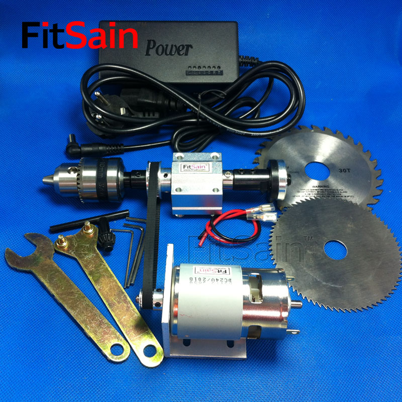 FitSain 4 mini table saw spindle 2GT 775 B12 1 5 10mm DIY bench saw spindle